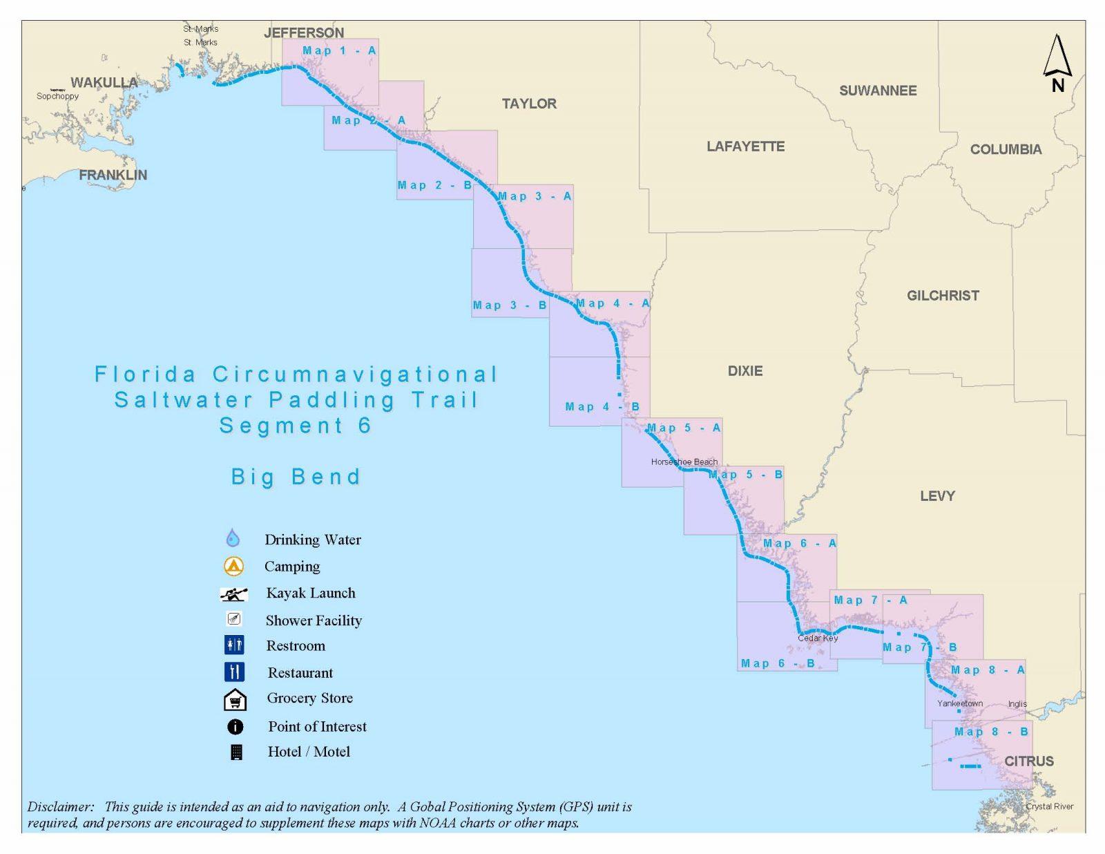 Florida Circumnavigational Saltwater Paddling Trail - Segment 6