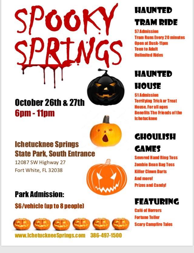 Spooky Springs 2018