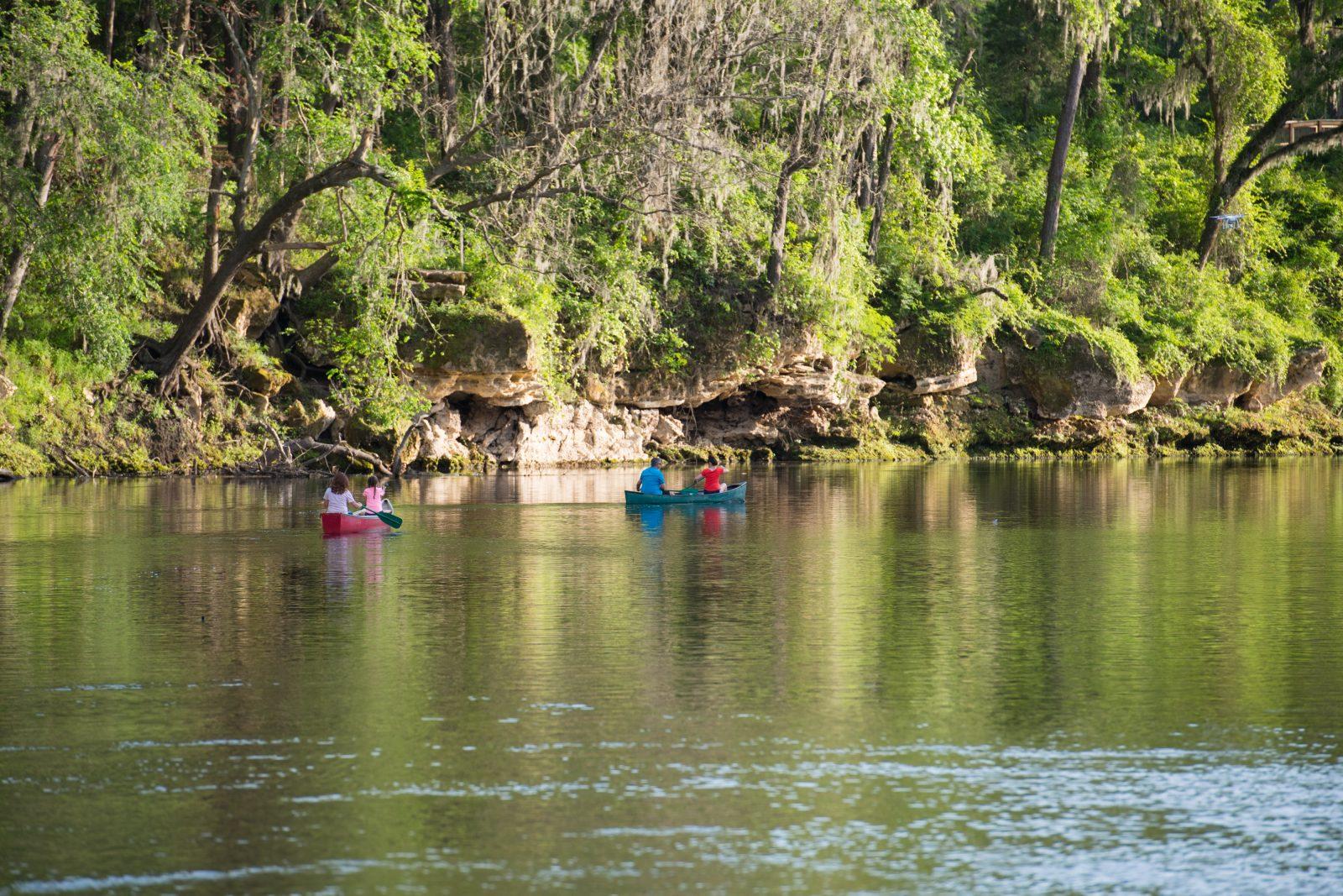 Suwannee River Canoe Rental