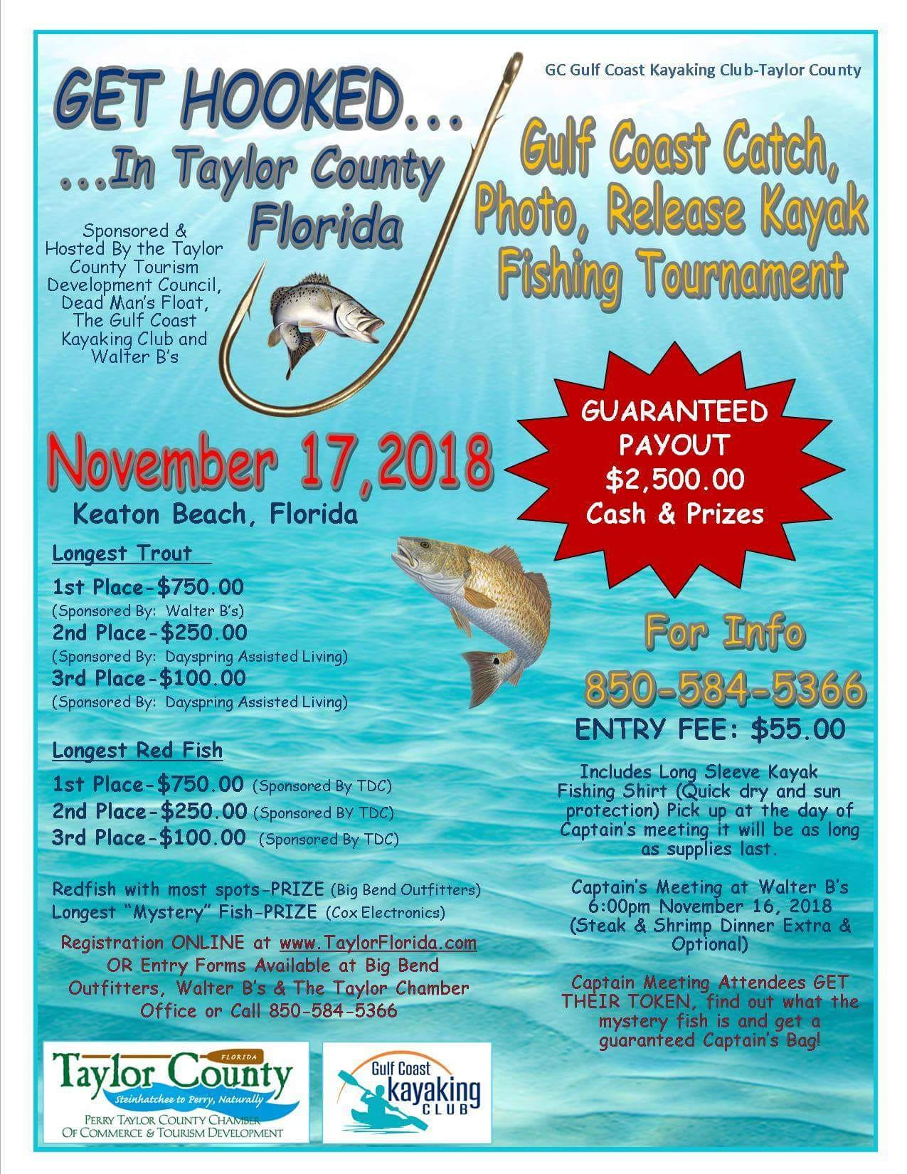 Gulf Coast Kayak Fishing Tournament