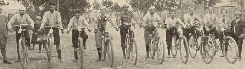 PBP start, circa 1895