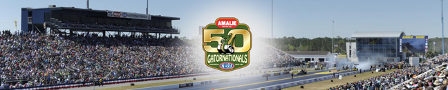50th Amalie Motor Oil NHRA Gatornationals Drag Races, Gainesville, March 14-17, 2019