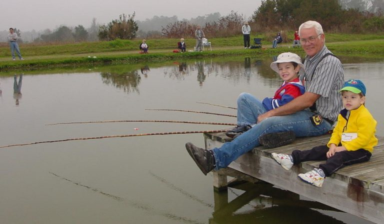 Take A Kid (or a Grownup!) Fishing---Family Fishing Days, Gainesville