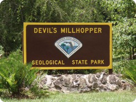 A Sinkhole Like No Other--Devils Millhopper Geological State Park, in Gainesville, Florida