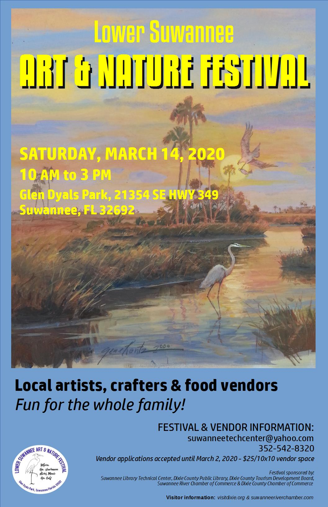Lower Suwannee Art & Nature Festival