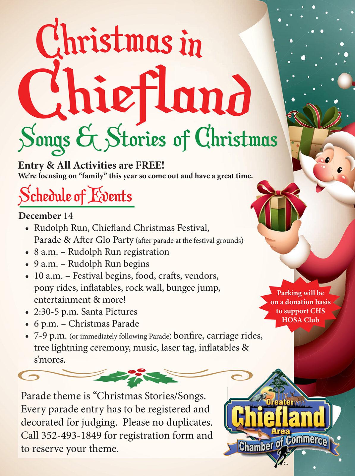 Chiefland Christmas Festival & Parade