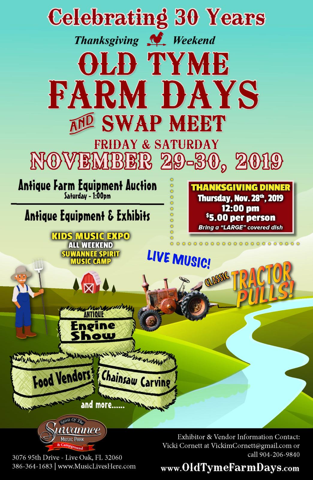 Old Tyme Farm Days & Swap Meet