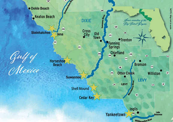 It's All About Seafood....Florida's Big Bend Shellfish Trail