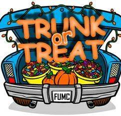 Trunk Or Treat--Halloween in Perry, Florida
