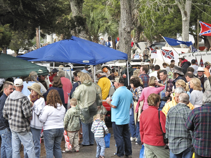 Fiddler Crab Festival, Steinhatchee, February 14-16, 2020  --  Bigger and Better!