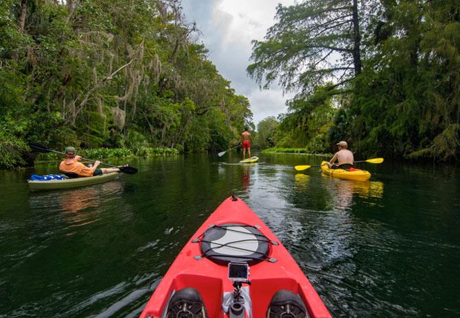 Natural North Florida Paddling Trails